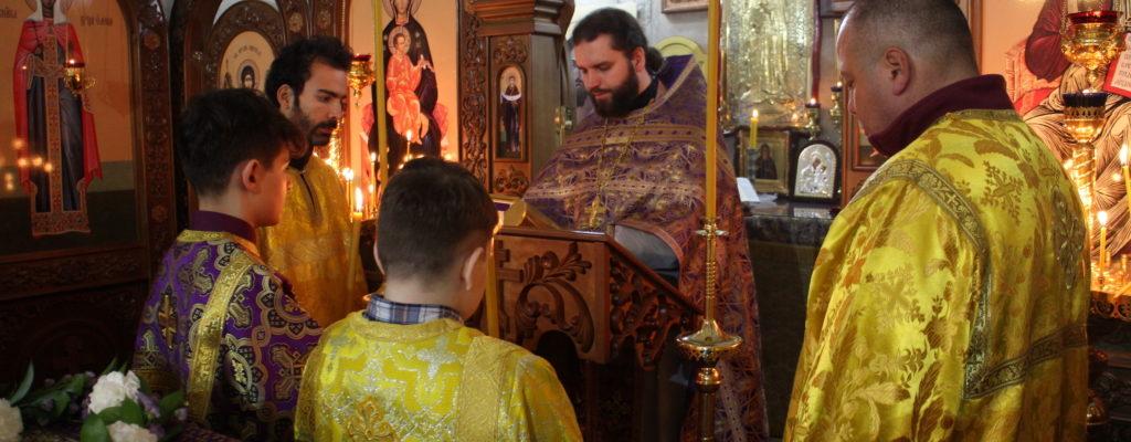 4-я Неделя Великого Поста. Преподобного Иоанна Лествичника.
